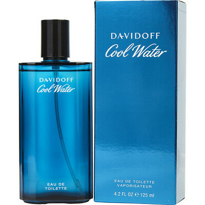 125ml Eau De Toilette Perfume (COOL WATER FOR MEN by Davidoff Perfume 4.2 oz 125 ML Eau de Toilette NEW in)