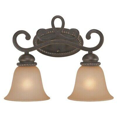 Craftmade Highland Place 2 Light Vanity, Mocha Bronze 25202-MB