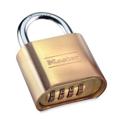 Master Lock 175d 4 Digit Resettable Combination Padlock