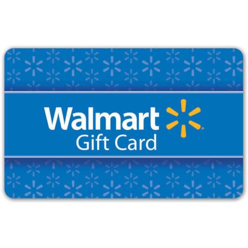 (10) $1 Digital Walmart e Gift Cards
