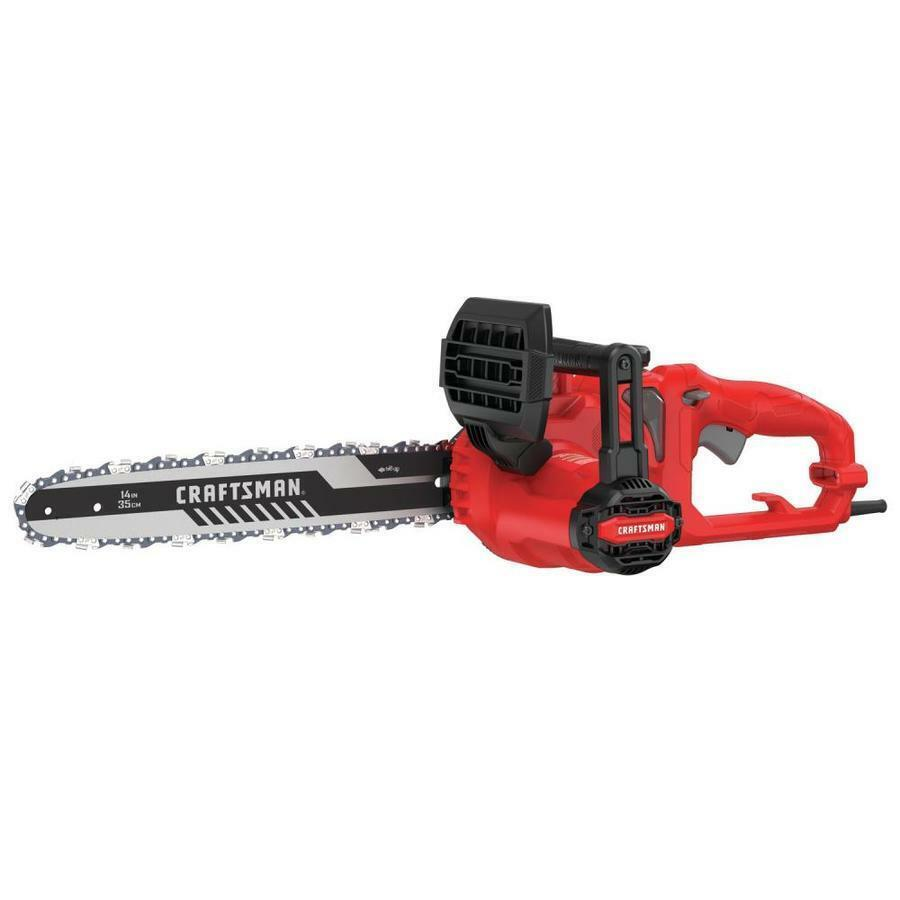 8-Amp 14 inch Corded Electric Chainsaw Auto Oiling Compact C