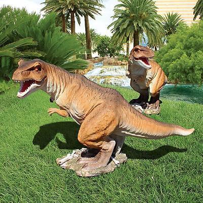 T Rex Dinosaur Tyrant Lizard Prehistoric Jurassic Scaled Replica Statue 29