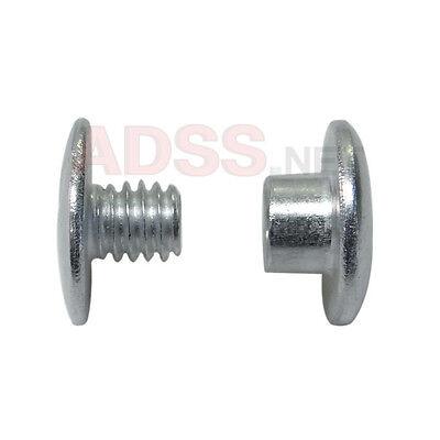 100 18 Aluminum Screw Posts Binding Screws Chicago Screws Binder Posts