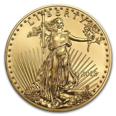 2018 1 oz Gold American Eagle Coin BU - SKU #159696