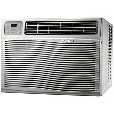 Norpole 12,000 BTU Window Room Air Conditioner Energy Star Remote 115 Volt