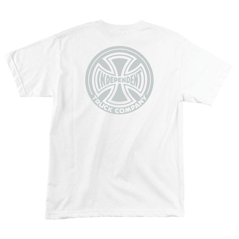 Independent Trucks F#CK OFF Skateboard Shirt WHITE LARGE