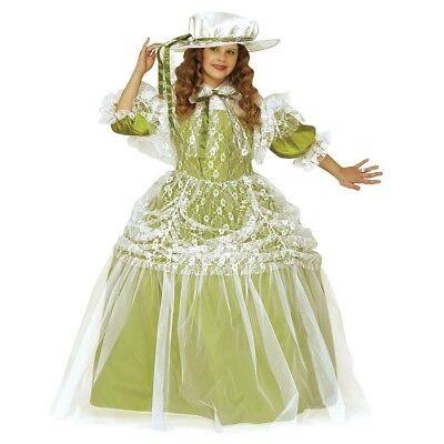 MINTGRÜNES KINDER MILADY KOSTÜM # Prinzessin Mittelalter Renaissance Barock 3490 ()