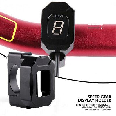 Aluminum Alloy Motorcycle Speed Gear Display Indicator Holder Bracket Universal