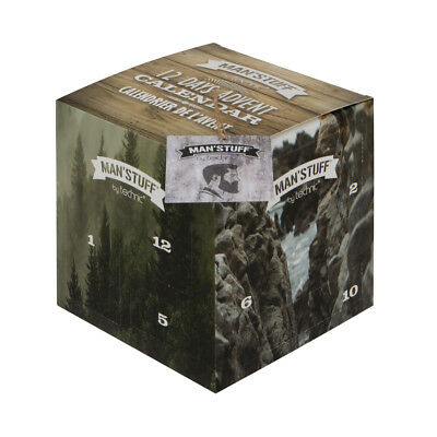 Technic Man'Stuff 12 Days Advent Calendar Toiletries Gift for Him Father Dad Men ()