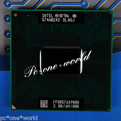 100% OK SLAQJ SLAZ3 Intel Core 2 Extreme X9000 2.8 GHz Laptop Processor CPU