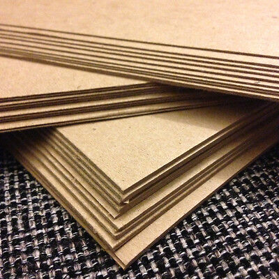 Chipboard variety pack - 10 sheets each: .050, .030, .022 - 8.5x11 full sheets