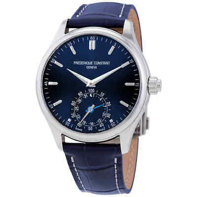 Frederique Constant Horological Smartwatch Blue Dial Men's Watch FC-285NS5B6