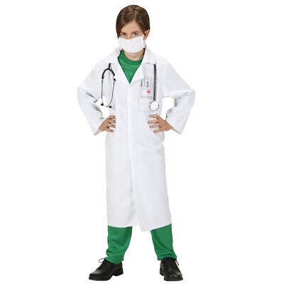 DOKTOR KITTEL KOSTÜM KINDER Karneval Fasching Arzt Mediziner Party Jungen # 7650 ()