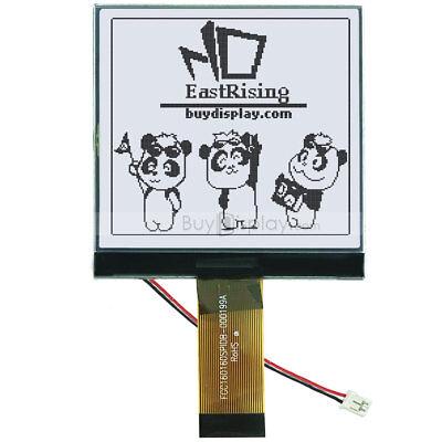 3160x160 Cog Graphic Lcd Module Displayuc1698 Controller Wtutorialconnector