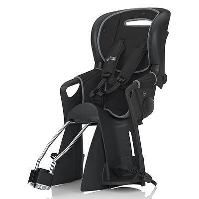 Römer Jockey Comfort Fahrrad - Kindersitz  Wendebezug - schwarz/grau