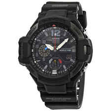 Casio G-Shock Gravitymaster Alarm World Time Black Dial Men's Watch GA1100-1A1