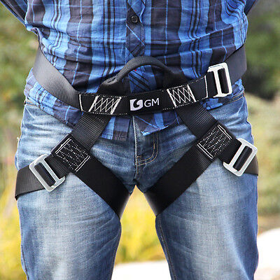 Half Body Harness L Size for Adults Men Outdoor Climbing Zip Line Sport Arborist