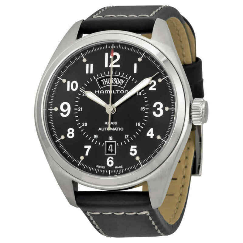 Hamilton-Khaki-Field-Automatic-Black-Dial-Men-Watch-H70505733