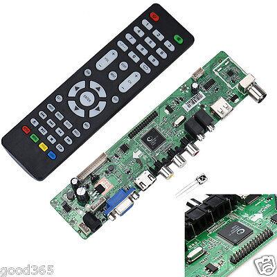 V59 Universal LCD TV Controller Driver Board PC/VGA/HDMI/USB Interface Hot Sale