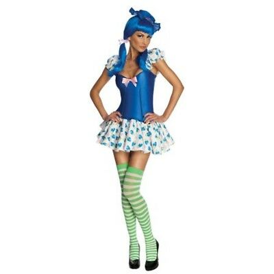 Womens Adult Sexy Strawberry Shortcake Blueberry Muffin Costume Outfit