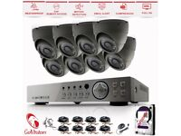 CCTV Security Systems (1080P/2.4MP)