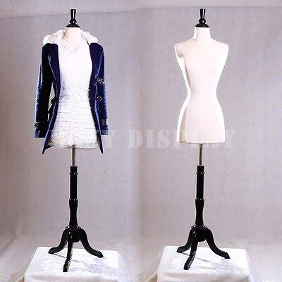 Female Size 2-4 Mannequin Manequin Manikin Dress Form F24wbs-02bkx