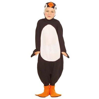 KINDER PINGUIN KOSTÜM Karneval Jungen Vogel Tierkostüm Kinderkostüm 104/110 3458