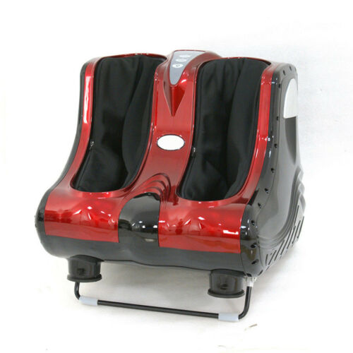 Shiatsu Kneading Foot Massager Rolling Foot Calf Ankle Leg Home Relax Red Health & Beauty