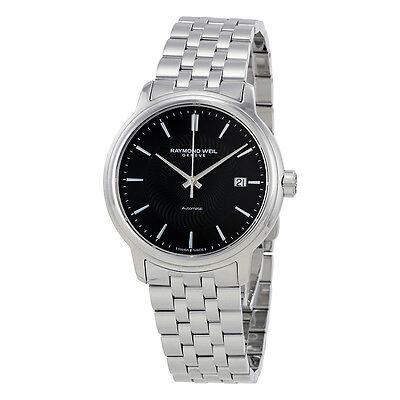 Raymond Weil Maestro Black Dial Mens Watch 2237-ST-20001