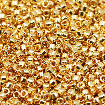 (**Pick Your Color ** 11/0 Toho Treasure #1 Cylinder Seed Beads - 9 grams)