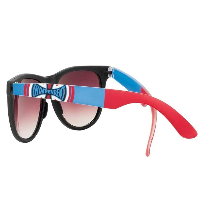 Independent Trucks DONS SQUARE Skateboard Sunglasses BLACK/BLUE/RED