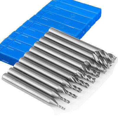 High Speed Hss 4 Flute Straight Shank Square Nose End Mill Cutter Cncrouter Bits