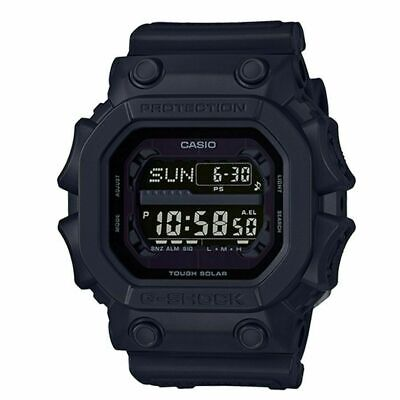 Casio G-Shock Mens Tough Solar Mud Resistant Black Out Watch GX56BB-1D