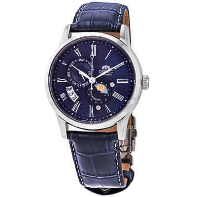 Orient Sun And Moon Version 3 Automatic Blue Dial Men's Watch FAK00005D0