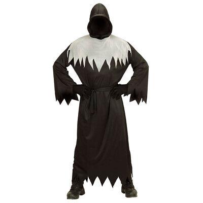 DÄMONEN KOSTÜM & MASKE KINDER Halloween Sensenmann Phantom Jungen Geister  0016 ()