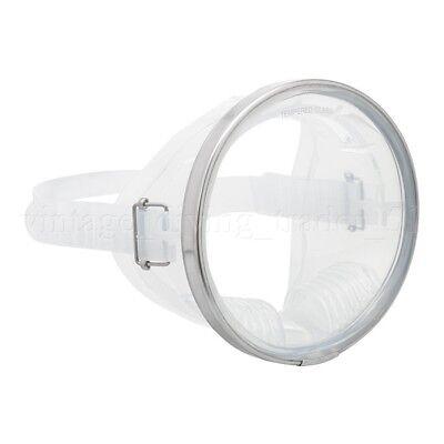 Classic Oval Einglas Taucher-Maske Scuba Taucherbrille Unterwasserfotografie NEU