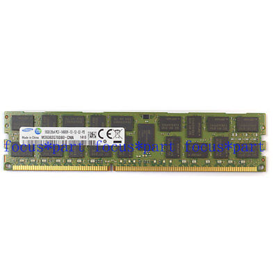 Samsung 16GB DDR3 1866MHz PC3-14900R 2RX4 ECC REG Registered Server Memory Ram