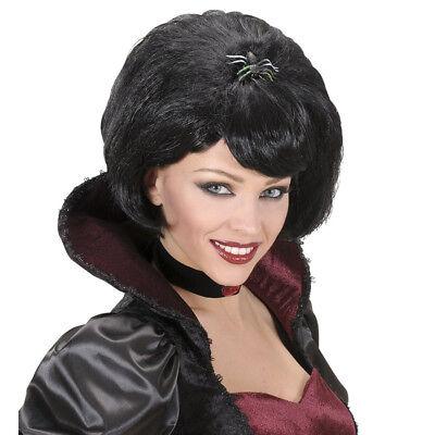 CKE MIT SPINNE # Halloween Damen Hexen Vamp Kostüm Party 0672 (Schwarze Witwe Spinne Kostüme)