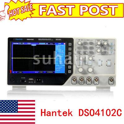 Hantek Dso4102c 2 Chs 100mhz Oscilloscopearbitraryfunction Waveform Generator