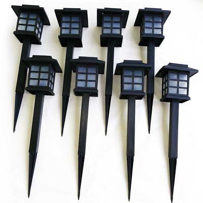 Solarleuchten Set 8er Gartenlampen Solar Laternen für Garten mit Erdspieß