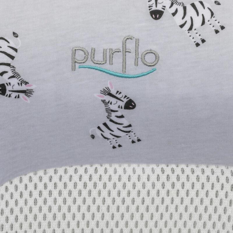 Purflo Spare Cover for Purair Breathable Nest - Zebra print