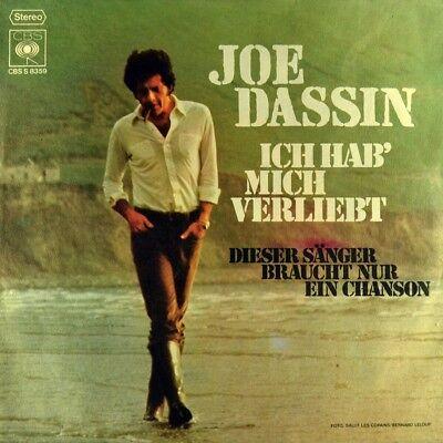 """7"""" JOE DASSIN Ich hab mich verliebt / Dieser Sänger braucht nur ein Chanson 1972"""