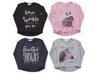 Infant Girls Long Sleeve Print Top