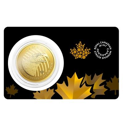 2018 1 oz Canadian Gold Golden Eagle - Call of the Wild $200 .99999 (In Assay)