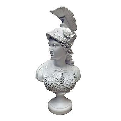 Athena Greek Goddess of War Minerva Roman Goddess of Wisdom Bonded Marble Bust