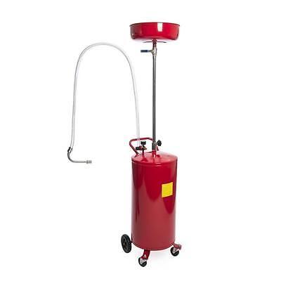 Ölablassgerät Ölauffanggerät 80 Liter Ölauffangwanne Ölauffangwagen Altölgerät