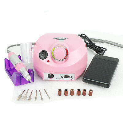 Professional Manicure Tool Pedicure Electric Drill File Nail Art Machine Kit Set