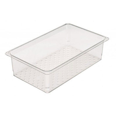 Cambro 18268clrcw135 Colander Food Pan Drain Tray 18in X 26in X 8in