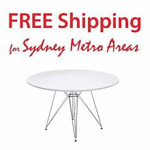SALE - Eames Style Eiffel Dining Table - dia 120cm Zetland Inner Sydney Preview