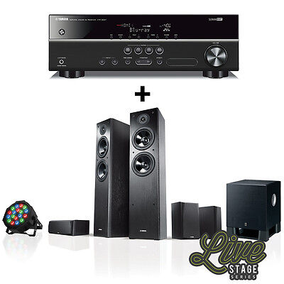 """Yamaha LIVESTAGE 5400 """"Latest Model"""" 5.1ch Home Theatre / DJ System Replace 5300"""